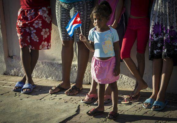 Caravana Tributo a Fidel. Foto: Irene Pérez/ Cubadebate.