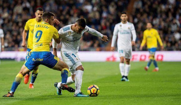 Casdemiro fue el autor del primer gol blanco. Foto: EFE.