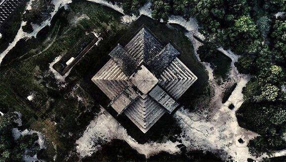 Vista aérea de Chichén Itzá. Foto: @mikeenoveloo / Twitter