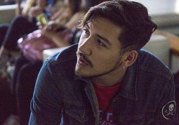 El estudiante chileno, Giovanni Lobos. Foto: Yadiana S. Gibert/ Cubadebate.