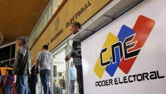 Sede del CNE en Caracas. Foto: Archivo.