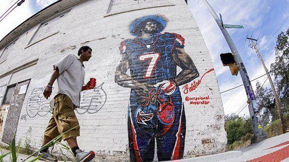 Kaepernick es un símbolo en los Estados Unidos. Foto: EFE.