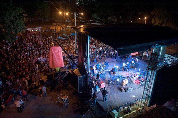 Concierto 87 de la Gira por los barrios de Silvio Rodríguez. Foto: Iván Soca/ Unicef