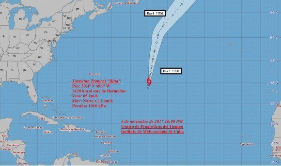 Se forma depresión tropical 19 en el Atlántico