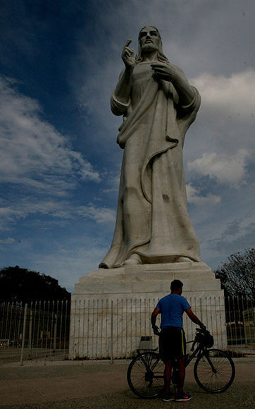 Cristo de La Habana. Foto: Jennifer Romero/ Cubadebate.