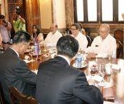 Delegaciones diplomáticas de Corea del Norte y Cuba se reúnen en La Habana. Foto:  Endrys Correa Vaillant/ Granma.