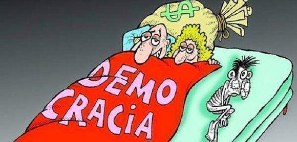Democracia en el capitalismo.