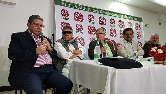 Como están las cosas, este proceso de paz sólo lo salva la movilización multitudinaria del pueblo en las calles, concordaron los exguerrilleros. Foto: @PCatatumbo_FARC