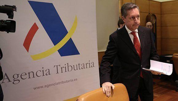 El director general de la Agencia Tributaria, Santiago Menéndez. Foto: EFE