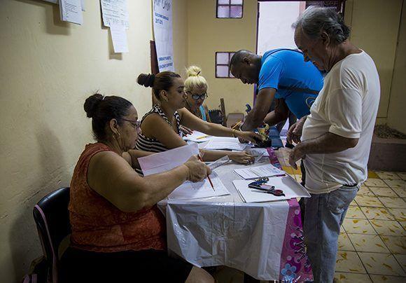El 89,02% de los cubanos acudió a las urnas el pasado 26 de noviembre. Foto: Irene Pérez/ Cubadebate.