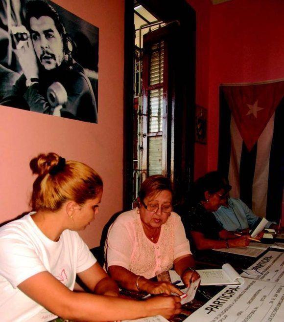 Al decir de la presidenta de la Comisión Electoral Nacional (CEN), Alina Balseiro, la prueba dinámica del pasado domingo 19 de noviembre arrojó resultados satisfactorios. Foto Granma.