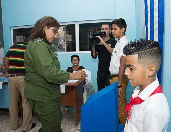 Isabel González Cárdenas, presidenta de la Asamblea Provincial del Poder Popular en Camagüey. Foto: Adelante