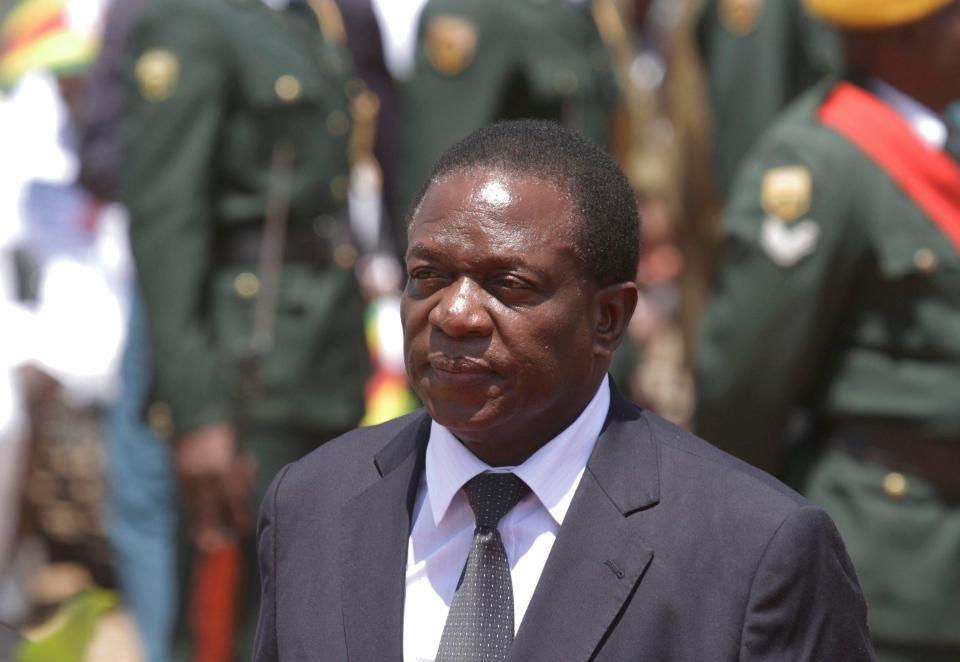 Nuevo presidente de Zimbabwe comienza su gestión ante ...