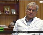 El Dr. Mitchel Valdés-Sosa, director general del Centro de Neurociencia de Cuba en la entrevista de RT. Foto: Red Cubana de la Ciencia.