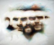Pintura realizada por Ernesto Rancaño para el VIII Congreso de la UJC, celebrado en Ciudad de La Habana del 2 al 5 de diciembre de 2004 y que fuera obsequiada por el pintor al Comandante en Jefe. Autor: Ernesto Rancaño. / Fecha: 12/2004