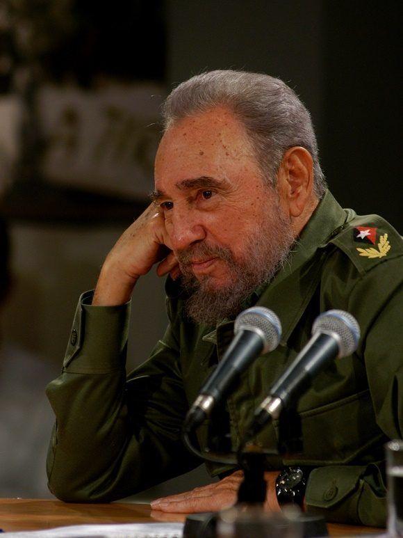 Los amigos del mundo no olvidan a Fidel