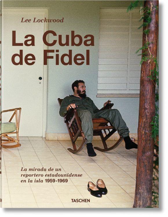 """Cubierta del Libro """"La Cuba de Fidel"""" de Lee Lockwood"""