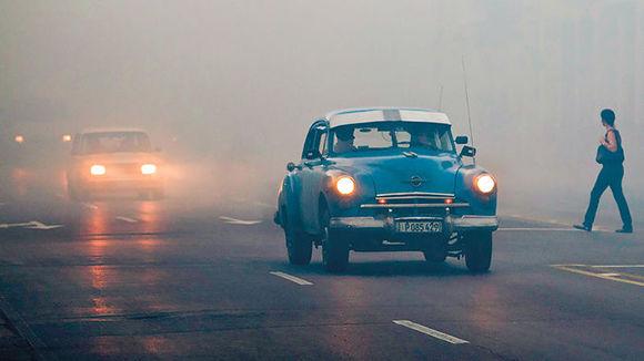 Fumigación en La Habana. Foto: Franklin Reyes/ AP.