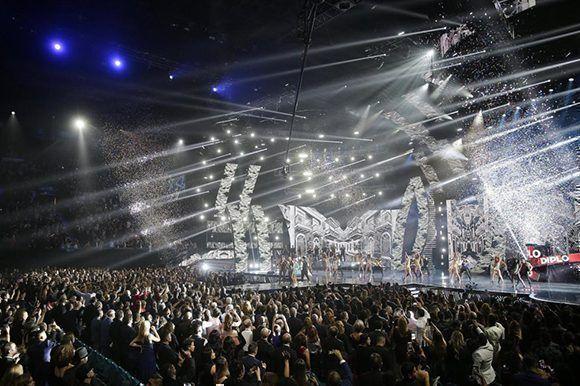 Gala de los XVIII Premios Grammy Latinos. Foto: Mike Nelson/ EFE.