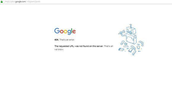 Cerrada la cuenta de HispanTV en Google+.