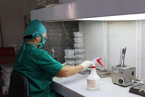 Las condiciones de esterilidad son imprescindibles para garantizar la calidad del trabajo.
