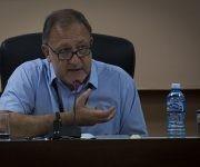 El investigador argentino Carlos Alberto Scolari durante ICOM-2017 en La Habana. Foto: Irene Pérez/ Cubadebate.