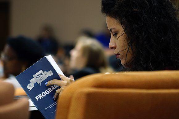 Sesiona la segunda jornada de ICOM-2017 en el Palacio de las Convenciones de La Habana. Foto: Leysi Rubio/ Cubadebate.