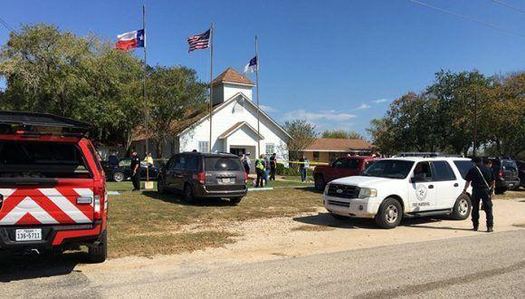 La iglesia está ubicada en la cuadra 500 de 4th Street, en el pequeño pueblo del sur de Texas, a aproximadamente 40 millas al este de San Antonio. Foto: @MaxMasseyTV