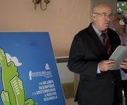 El viceministro primero del Ministerio de la Construcción de Cuba, Ángel Vilaragut, realizó la invitación a FECONS 2018. Foto: Ismael Francisco / Cubadebate