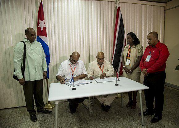 Trinidad y Tobago firma plan de acción con Cuba hasta 2018