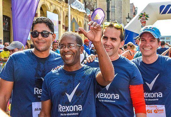 Momentos después de concluir la Edición XIX de Maracuba, carrera popular que saludará de manera especial el Día de la Cultura Física y el Deporte. Foto: Yaciel Peña / ACN