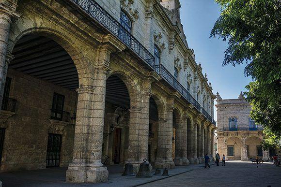 Palacio de los Capitanes Generales. Foto: Jorge Laserna/ Habana Radio.