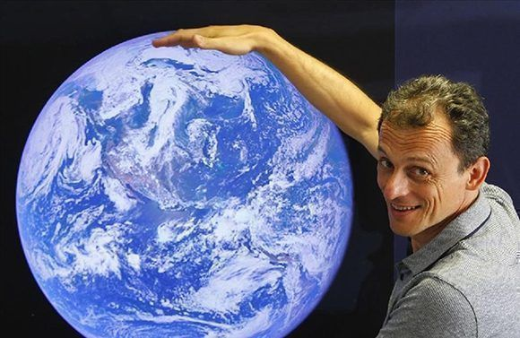Pedro Duque viajó al espacio por primera vez en 1998. Foto: TVE.