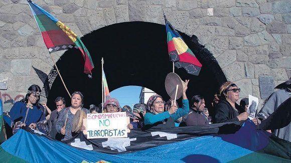 Otro joven es asesinado en su lucha por los derechos del pueblo mapuche. Foto: Télam