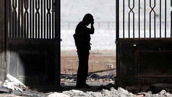 Raqqa quedó prácticamente en ruinas. Foto: Reuters.