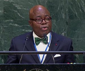 Representante de la Organización para la Cooperación Islámica hoy en ONU.