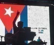 Silvio Rodríguez en su concierto 87 por los barrios. Foto: Iván Soca