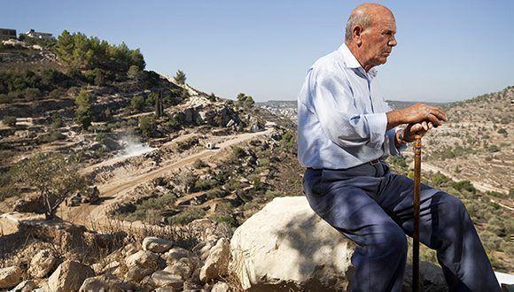 Los residentes de Al Walaya tampoco podrán bajar hasta las terrazas que cultivaron durante siglos puesto que Israel construyó en la zona un muro que separa completamente el pueblo de esas tierras. Foto: Archivo.