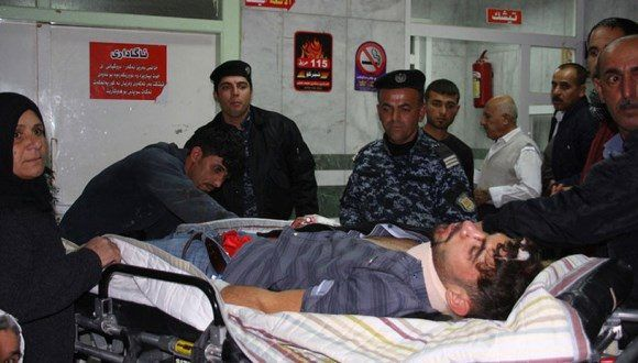 La cifra de muertos y heridos crece por horas. Foto: AFP.