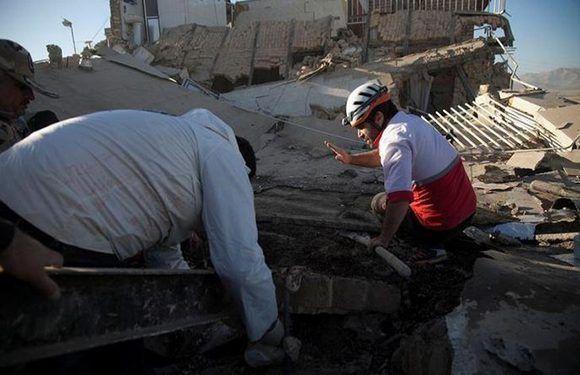 Destrucción en Medio Oriente tras un poderoso terremoto. Foto: Reuters.