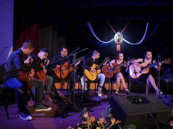 El Sexteto Concuerdas interpretó una de las canciones más conocidas de Silvio Rodríguez