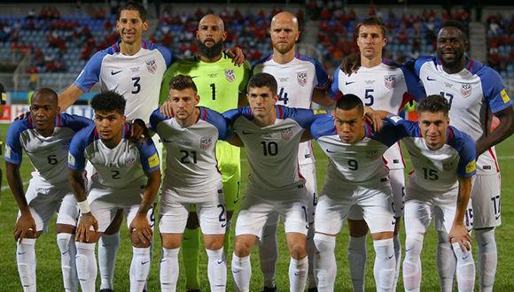 Selección americana de fútbol. Foto: Getty Images