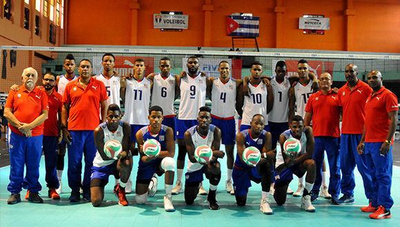 Cuba en difícil grupo D del Campeonato Mundial de Voleibol (m)
