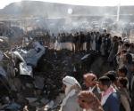 Bombardeo deja 21 muertos en un hotel de Yemen. Foto: Reuters.