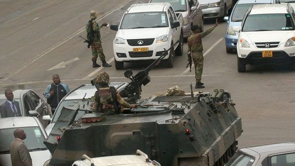 Militares tomaron el control del país. Foto: Reuters.