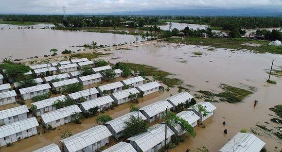 Inundaciones provocadas por Urduja en Filipinas. Foto tomada de Sputnik Mundo.