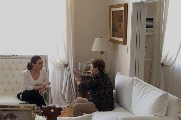 Cristina y Delma se reunieron en Buenos Aires
