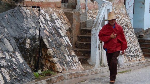 Subiendo La Loma. Gibara, Holguín, Cuba. Foto: Danier Ernesto González, 11 de diciembre.
