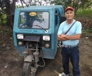 """Guillermo Miranda asegura que ya sus ingresos no resultan tan elevados como antes, porque """"ahora hay más transporte para cualquier lugar"""" (Foto: Yunier Sifonte/Cubadebate)"""