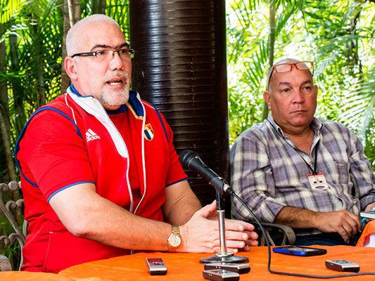 Antonio Becali habló de la complejidad de los venideros Centroamericanos. Foto: Roberto Morejón/ Jit.